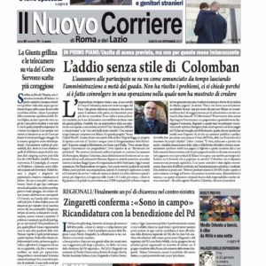 Il Nuovo Corriere n.74 del 14 ottobre 2017