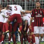 Dzeko lancia Roma, Montella KO ma fiducia Milan