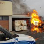 CIAMPINO - A fuoco il magazzino del Maury's: escluse cause dolose