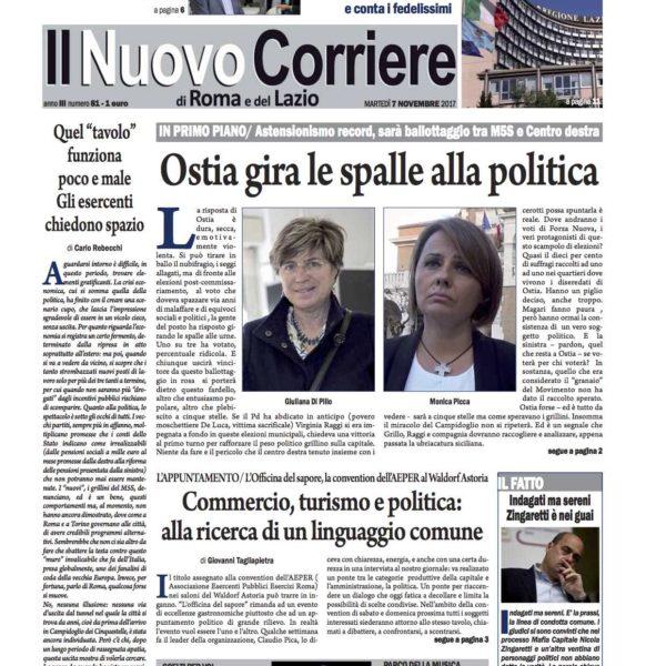 Il Nuovo Corriere n.81 del 7 novembre 2017