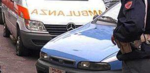 CRISTOFORO COLOMBO – Auto con 5 ragazzi si ribalta, muore 21enne