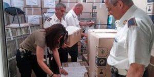 OSTIA – Controlli al mercato dell'Appagliatore: sequestrati 35 quintali di merce