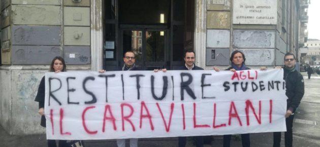 PRATI – Santonocito: Restituiamo il Caravillani agli Studenti