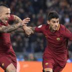 Il derby è della Roma, 2-1 alla Lazio con Perotti e Nainggolan