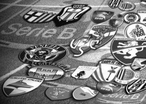Serie B 2017-2018, i loghi delle squadre (elaborazione)