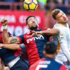 Roma frena a Genova e De Rossi perde la testa