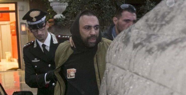 Aggressione Ostia<br> Spada trasferito in un carcere di massima sicurezza
