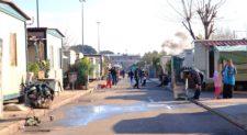 VIA DI SALONE – 9 gli arresti dopo il controllo al campo nomadi