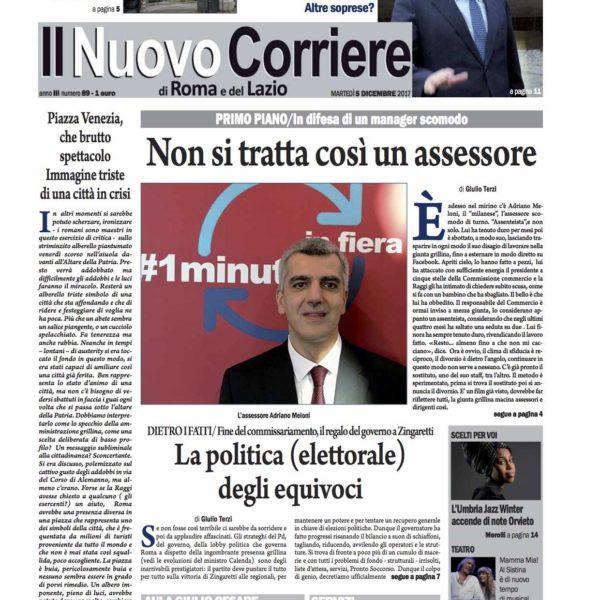 Il Nuovo Corriere n.89 del 5 dicembre 2017