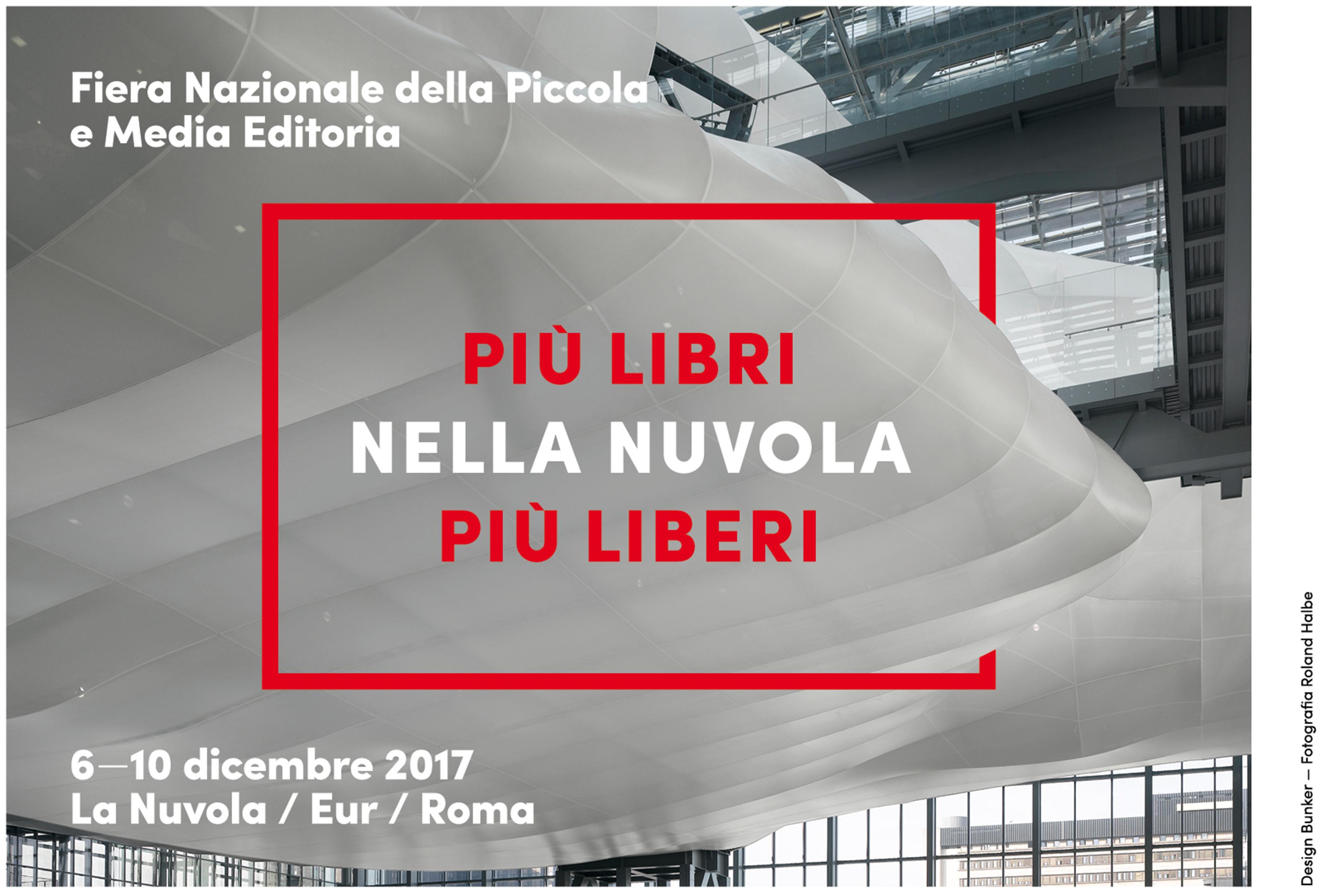 Risultati immagini per aie più libri più liberi a roma alla nuvola?