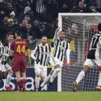Juve batte Roma 1-0 Bianconeri a meno 1 dal Napoli