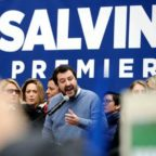 """Salvini a Roma contro lo ius soli: """"Mi candiderò nei collegi di Renzi"""""""