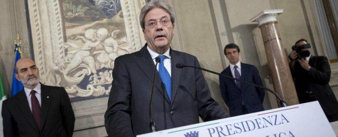Pd, Gentiloni: <br> «Mi candido nel Collegio Roma 1 alla Camera»
