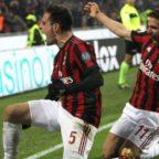 Milan-Lazio 2-1, polemiche ma Gattuso esulta