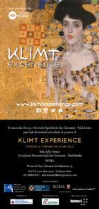 INVITO_Klimt Experience_Roma - Complesso Monumentale San Giovanni-Addolorata