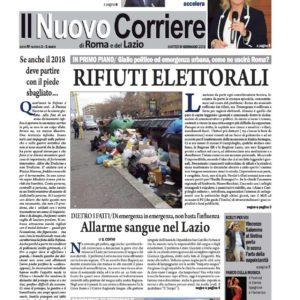 Il Nuovo Corriere n.1 del 9 gennaio 2018
