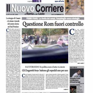 Il Nuovo Corriere n.10 del 10 febbraio 2018