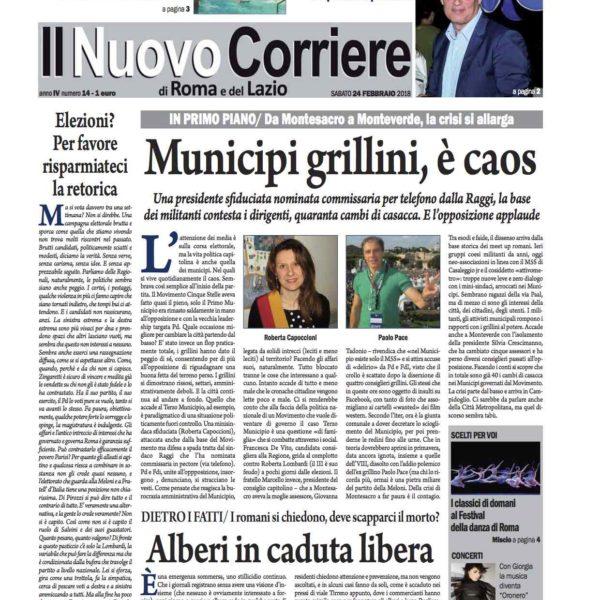 Il Nuovo Corriere n.14 del 24 febbraio 2018