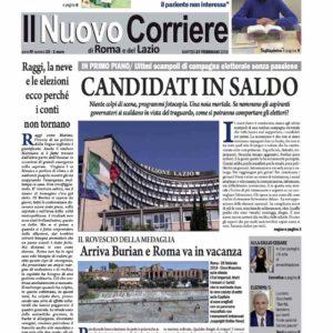 Il Nuovo Corriere n.15 del 27 febbraio 2018