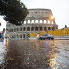 Meteo, allarme anche nel Lazio