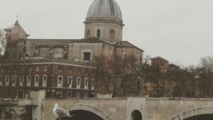Roma, febbraio 2018 - La Capitale sotto l'onda del maltempo (Foto Online News)