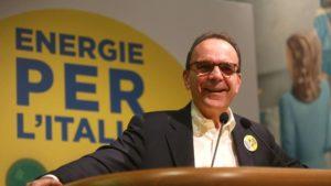 Stefano Parisi, candidato per il centrodestra alla presidenza della Regione Lazio alle elezioni del 4 marzo 2018