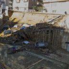 BALDUINA - Voragine: due indagati per il crollo colposo