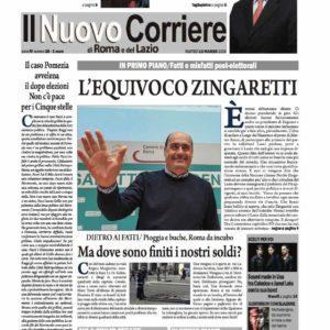 Il Nuovo Corriere n.18 del 13 marzo 2018