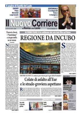 Il Nuovo Corriere di Roma e del Lazio n.20 – Anno IV + Cronache Nazionali n.20 – Anno III