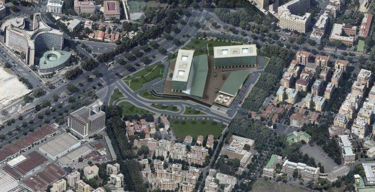 Riqualificazione piazza dei Navigatori,<br> via libera dal Campidoglio