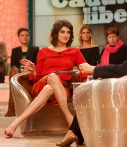Elisa Isoardi, conduttrice su Rai 1, tutti i giorni alle 11, del programma Buono a Sapersi