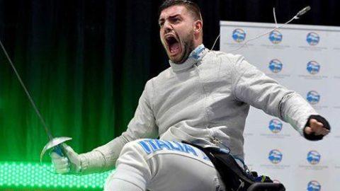 Scherma paralimpica:  anche Montino (sindaco Fiumicino) si congratula con Giordan