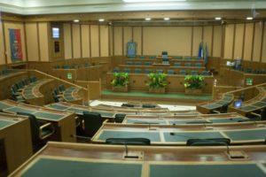 Roma- Aula del consiglio regionale del Lazio