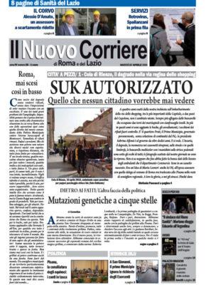 Il Nuovo Corriere di Roma e del Lazio n.25 – Anno IV + Cronache Nazionali n.24 – Anno III
