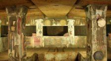 CERVETERI – Domenica apertura straordinaria della Tomba degli Scudi e della Tomba dei Leoni Dipinti