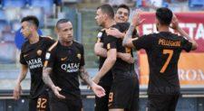Roma-Chievo 4-1, poker per la Champions