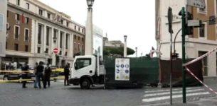 """SAN PIETRO – """"C'è una bomba nella banca"""", falso allarme. Traffico in tilt a Via della Conciliazione"""