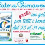 GELATO A PRIMAVERA  Torna a Roma la 33° Edizione della Festa del Gelato Artigianale