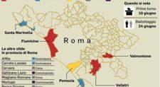 Sedici comuni al voto, sfida nei municipi ex M5s