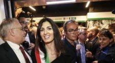 Metro C a San Giovanni<br> La Raggi inaugura la nuova tratta