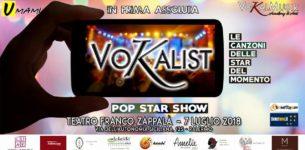 """""""VOKALIST 2018"""", uno spettacolo mai visto in Italia"""