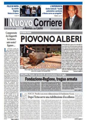 Il Nuovo Corriere di Roma e del Lazio n.47 – Anno IV + Cronache Nazionali n.46 – Anno III
