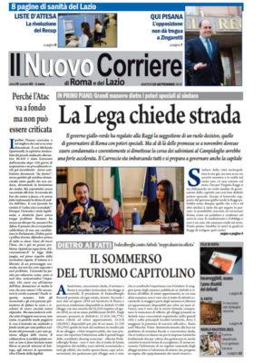 Il Nuovo Corriere di Roma e del Lazio n.62 – Anno IV + Cronache Nazionali n.62 – Anno III