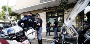 PORTUENSE – Rapina in banca con ostaggi: paura ma colpo fallito