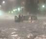 Roma sott'acqua, grandine e strade allagate