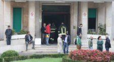 Incendio all&#8217;ospedale Villa San Pietro:<br> trasferiti dei pazienti
