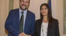Raggi-Salvini a caccia di consenso