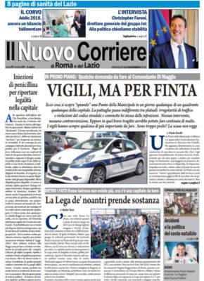 Il Nuovo Corriere di Roma e del Lazio n.84 – Anno IV + Cronache Nazionali n.83 – Anno III