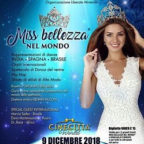 CONCORSO INTERNAZIONALE MISS BELLEZZA NEL MONDO