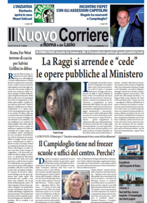 Il Nuovo Corriere di Roma e del Lazio n.2 – Anno V + Cronache Nazionali n.2 – Anno IV